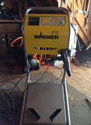 Wagner Manual Box Feed Powder Coating Gun System