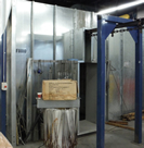 Rohner Open Face Booth and Air Make Up Unit